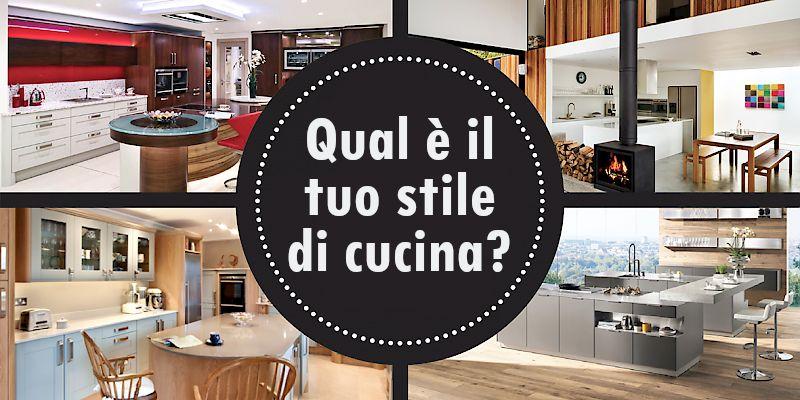 Qual è il Tuo Stile di Cucina?