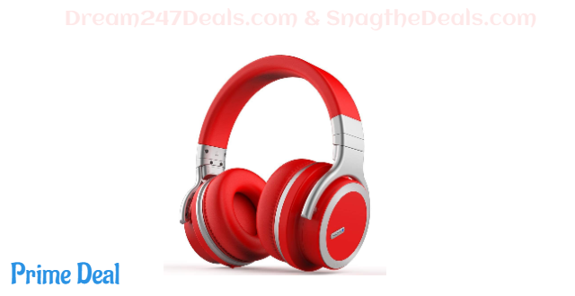 80%OFF Meidong E7 PRO Active Noise Cancelling Bluetooth Headphones with Free Carring Case
