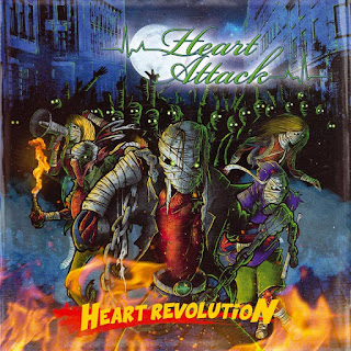 "Ακούστε το album των Heart Attack ""Heart Revolution"""
