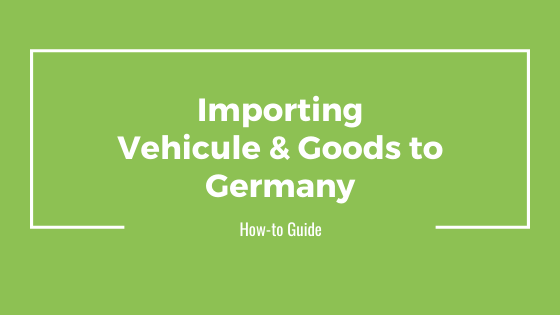 Vehicule Import Germany