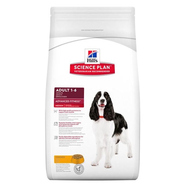 Hill's dog food