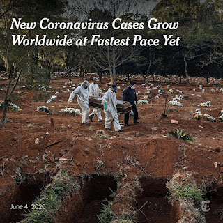New Coronavirus Cases Grow Worldwide at Fastest Pace