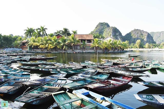 Embarcadero de Tam Coc, Ninh Binh