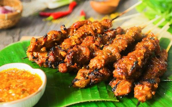 Thịt xiên Satay