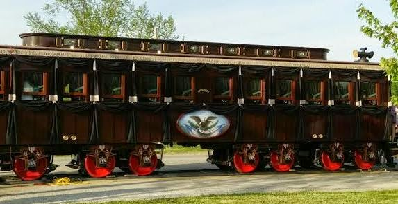 10 000 Things That Make Me Happy Lincoln S Funeral Train