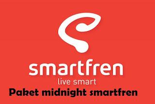 Cara beli paket midnight smartfren murah kuota 12GB dan 16GB mulai dari Rp 20000