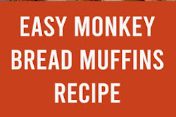Easy Monkey Bread Muffins Recipe #muffins #bread #monkeybread #easyrecipe #brunch