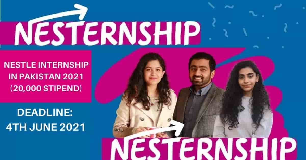 Nestle Internship Program 2021 | Paid Internship – Apply Now