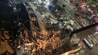 Lokasi Karantina Corona di China Ambruk, 19 Orang Terjebak