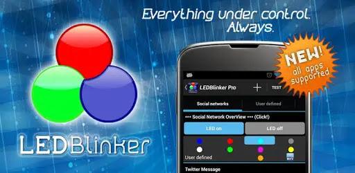 تطبيق LED Blinker Notifications Pro يسمح بعرض المكالمات