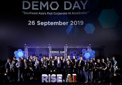 RISE ร่วมกับพันธมิตรองค์กรธุรกิจชั้นนำ จัด RISE. AI Demo Day  แสดงผลงาน 30 สตาร์ทอัพระดับโลก ตอบโจทย์การใช้ปัญญาประดิษฐ์ในองค์กร