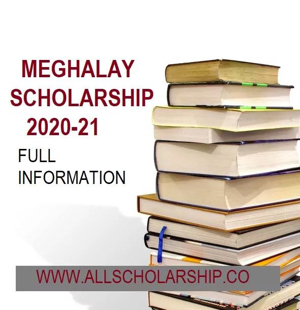 Meghalaya Scholarship Umbrella Scheme 2021