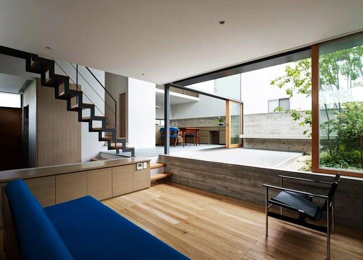 Gambar Desain Rumah Split Level Minimalis Mewah