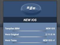 BBM New IOS V2.11.0.16 Apk Terbaru