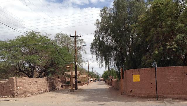 Rua em San Pedro de Atacama Chile