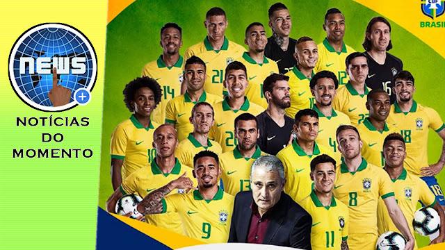 Brasil vence Peru e conquista sua nona Copa América.