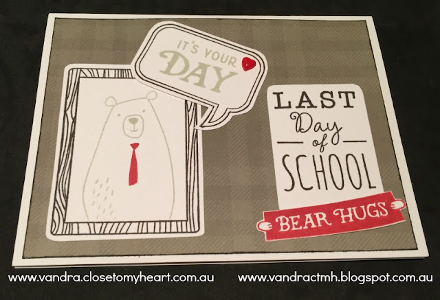 S1708, School Year, C1678, Z3333, Jack, #CTMHJack, Bear, Cardmaking, Pocket Scrapbooking, Vandra's Virtual CTMH Craftroom