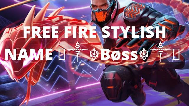 Free Fire Stylish Name Boss