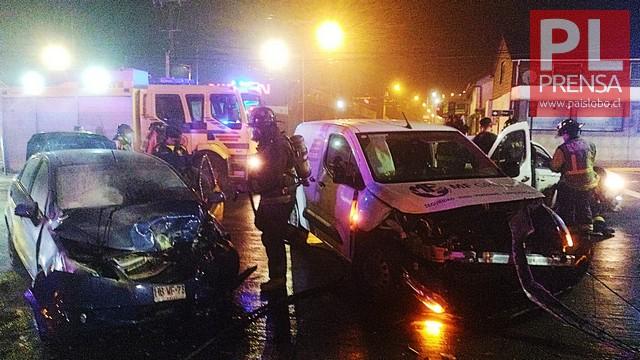 Osorno: Accidente de tránsito en Av. República