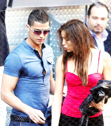 Stars coupes des cheveux cristiano ronaldo et irina shayk for Coupe de cheveux de cristiano ronaldo de dos