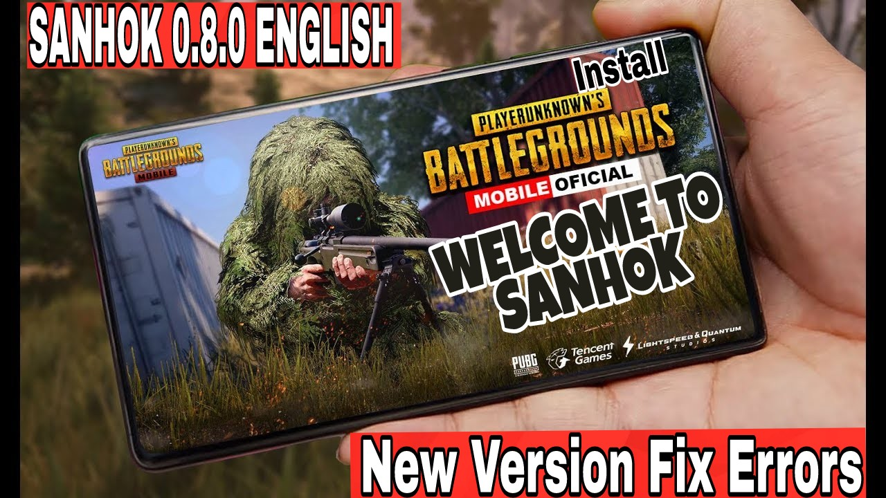 How To Play New Pubg Map Sanhok On Iphone Right Now: Pubg Sanhok 0.8.0 (New English Version)