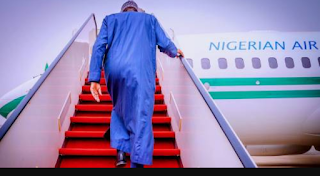 PRESIDENT BUHARI EXPECTED IN NIGERIA ON FRIDAY