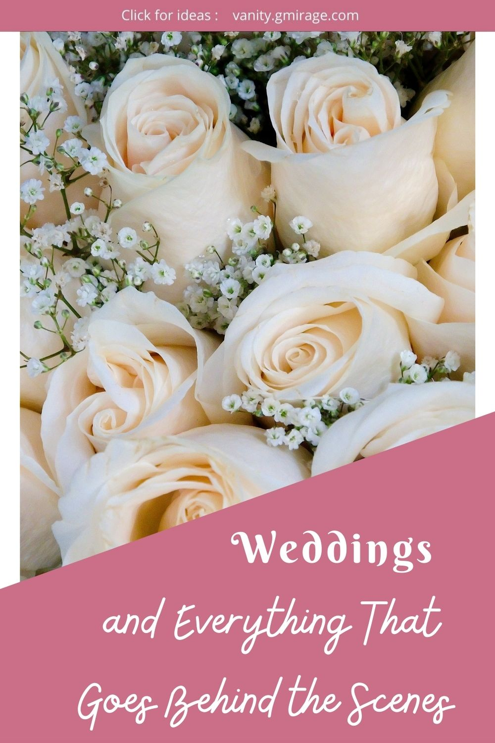 Weddings and Everything That Goes Behind the Scenes