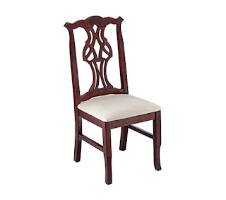 Beechwood Mountain Chippendale Side Chair in Mahogany