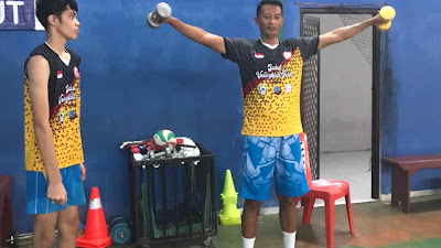 Jerel Mengagumi Sosok Pelatih Tim Nasional Bola Voli Putra Indonesia, Samsul Jais