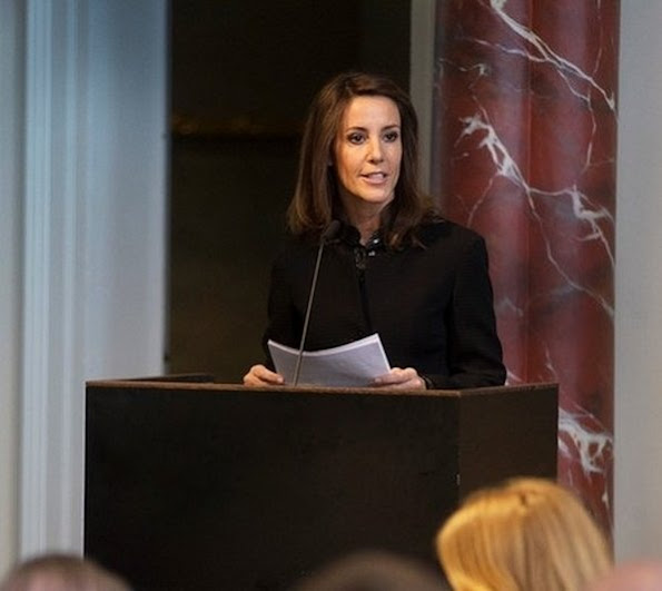 Princess Marie as patron of the Danish National Commission for UNESCO opened the UN Conference at the National Museum