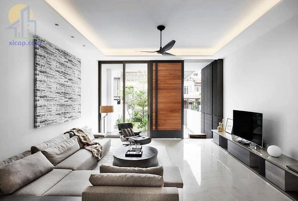 Các mẫu thiết kế nội thất nhà phố đẹp, chung cư đẹp và hiện đại