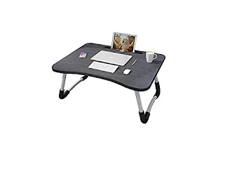 MemeHo® Smart Multi-Purpose Laptop Table with Dock Stand/Study Table/Bed Table/Foldable and Portable/Ergonomic