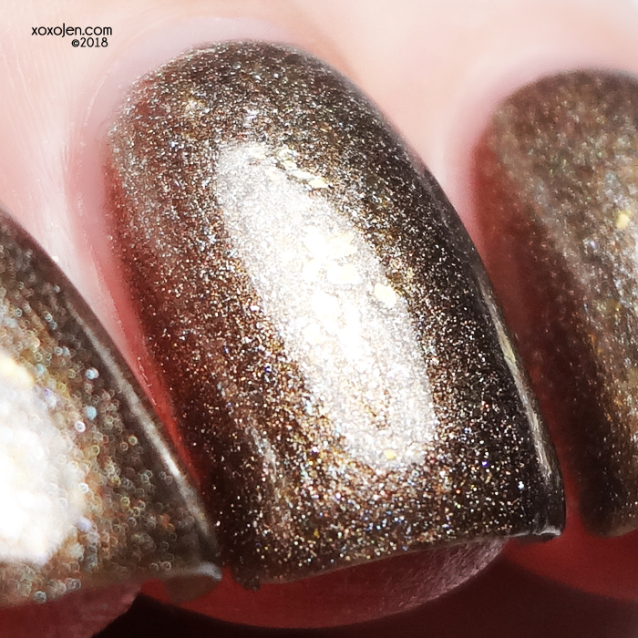 xoxoJen's swatch of Turtle Tootsie Polishes Loyal to the Throne