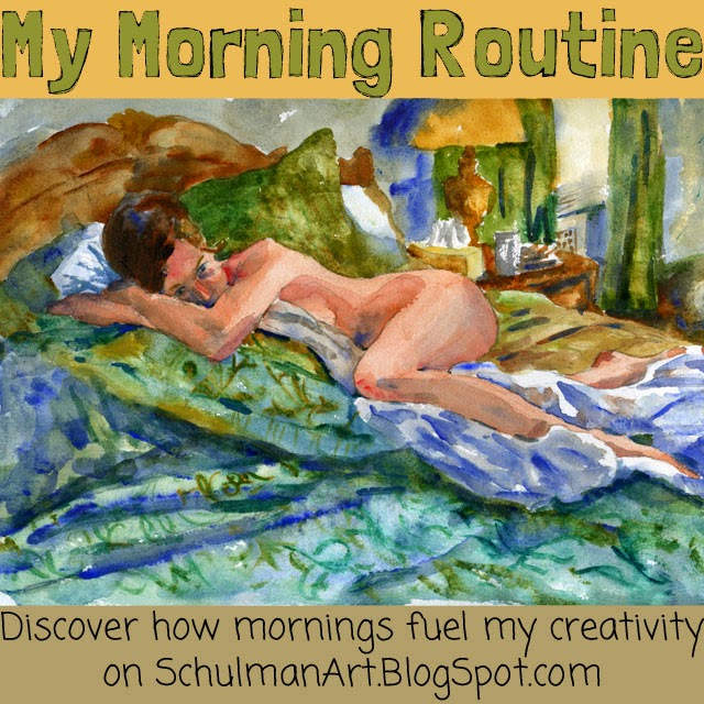 morning routine | my morning routine | morning ritual | read more on http://schulmanart.blogspot.com/2015/03/my-morning-routine.html