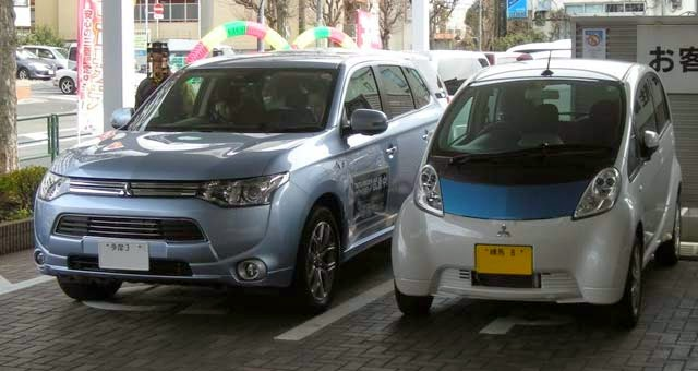 Mitsubishi Boss: Electric vehicles 'will beat petrol cars