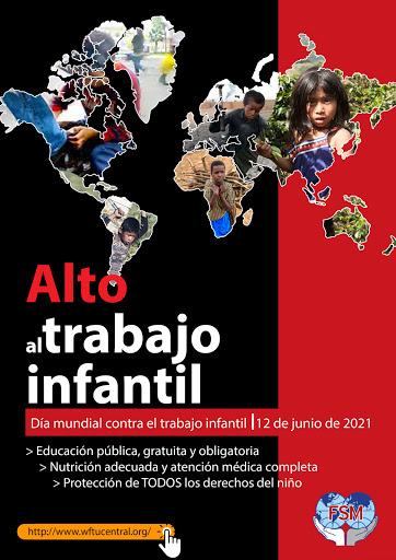 12 de junio 2021 – Día Internacional contra el Trabajo Infantil