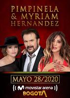Concierto de PIMPINELA y Myriam Hernández en Bogotá