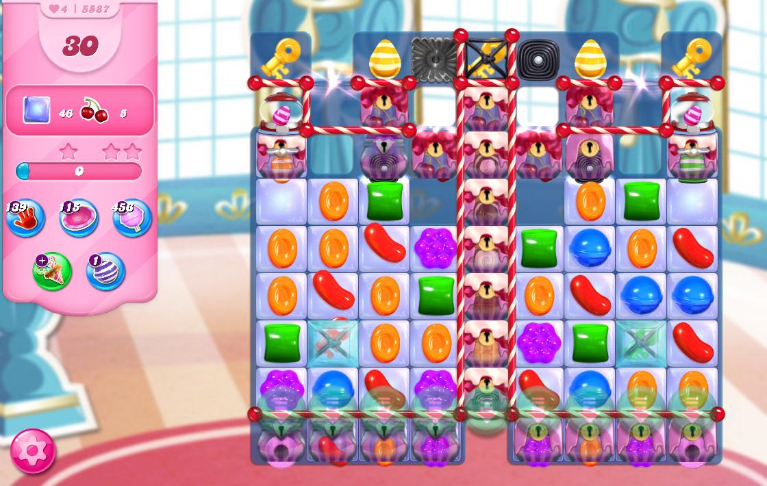 Candy Crush Saga level 5587