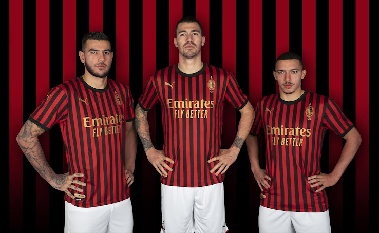 Classy AC Milan 120th Anniversary Kit + Collection ...