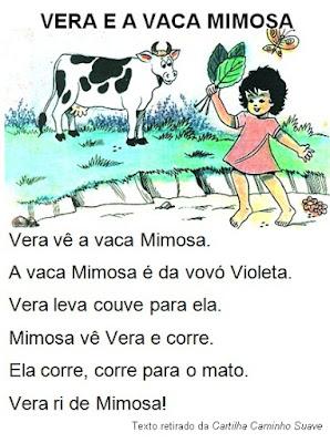Texto VERA E A VACA MIMOSA