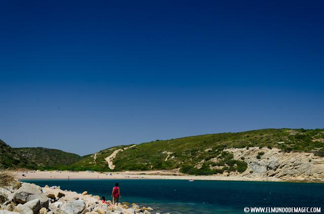 Las mejores playas del Algarve - Explorando playa de Boca del Barranco