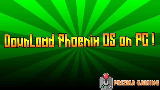 Download Phoenix OS for PC