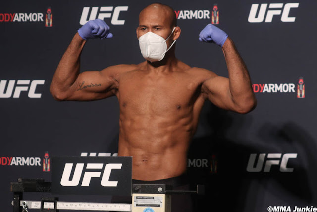 Ronaldo Souza UFC 249 Weigh In