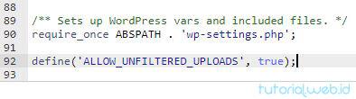 Cara Mengatasi Berkas ini Tidak Diizinkan 4 Tambahkan Script