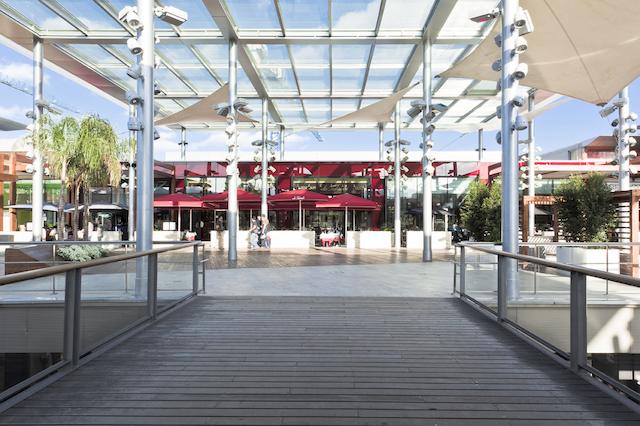 Cafeteria do Shopping La Maquinista em Barcelona