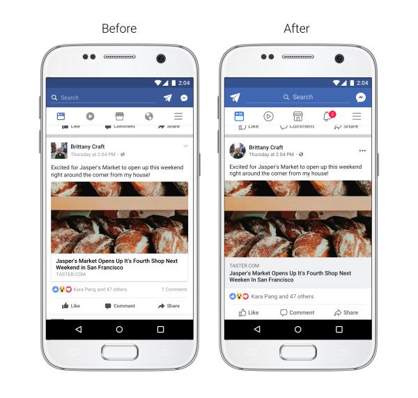 تعرف علي التصميم الجديد و المميز لتطبيق فيسبوك وطريقة الحصول عليه