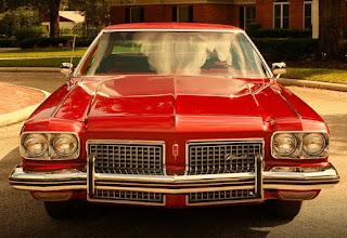 1973 Oldsmobile 98 Luxury Sedan Front