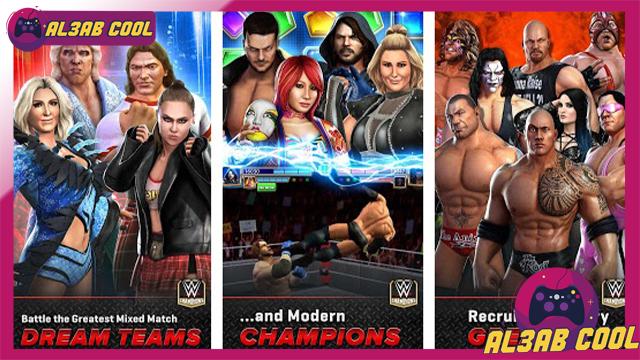 تحميل لعبة WWE Champions MOD للأندرويد من الميديا فاير