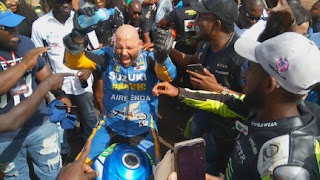 Tecno backs West/A superbike, motor racing