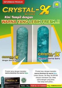 Inilah Fungsi Crystal X Yang Luar Biasa Untuk Wanita Indonesia